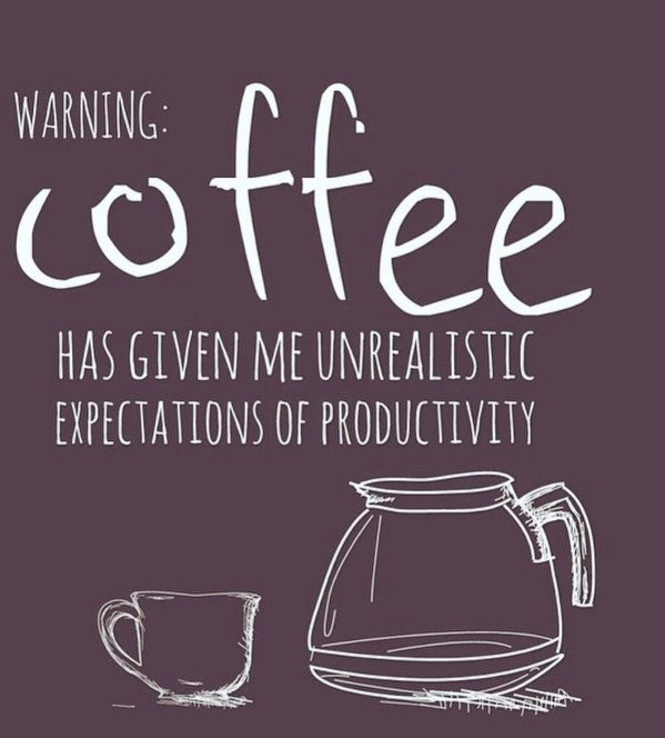 Coffee Warning